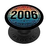 Awesome Since 2006 - Geschenke Zum 14 Geburtstag PopSockets PopGrip: Ausziehbarer Sockel und Griff für Handys/Tablets mit Tauschbarem Top