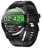 jpantech Smartwatch Voll Touch Screen IP68 Damen Herren Intelligente Uhren Sport | Bluetooth-Anruf | EKG-Überwachung Tracker Pulsuhr Schrittzähler Blutdruckmessung Wasserdicht...