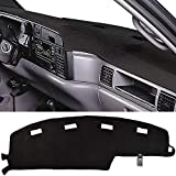 XUKEY Dashboard Cover for Dodge Ram 1500 2500 3500 1994-1997 Dash Cover Mat