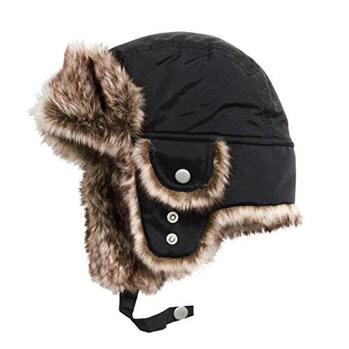 Boys Winter Hats Big Kids Nylon Russian/Aviator Winter Earflap Cap