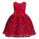 Vestido de niña Desfile de novia de Pascua para niños pequeños, Vestido de fiesta de princesa de desfile de disfraces