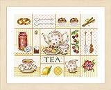 Lanarte Tea Party Cross Stitch Kit