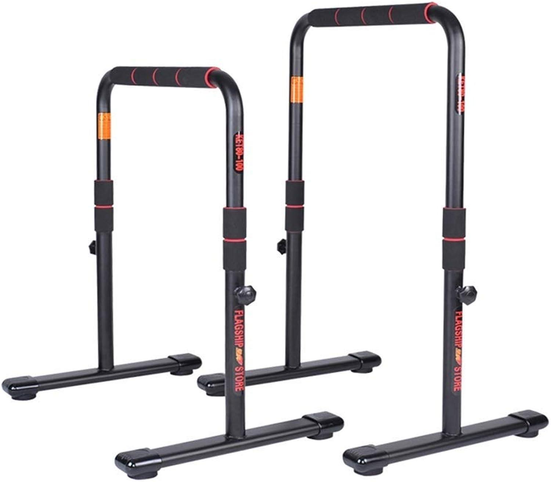 ZAIHW Dip Station Funktionelle Hochleistungs-Dip-Stnder Fitness Workout Dip Bar Station Stabilizer Parallette Push Up Stnder