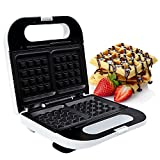 Best Waffle Makers Flips - Geepas 815W Waffle Maker - 2 Slice Non-Stick Review