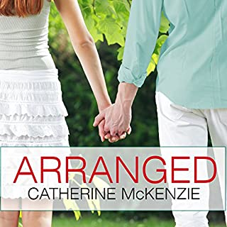 Arranged audiobook cover art
