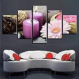 BAOYIHAI Modulare Wandkunst HD gedruckt Poster 5 Stück