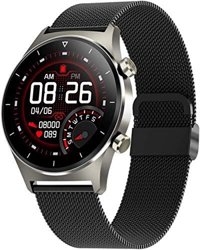 Smartwatch ritmo cardíaco oxígeno de sangre Bluetooth teléfono música cardiovascular reloj inteligente para mujeres y hombres-B