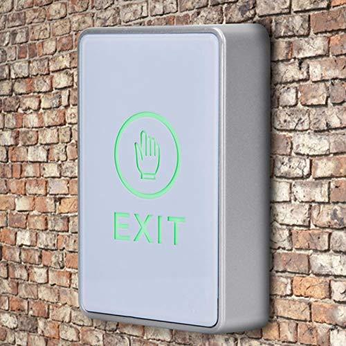 LZKW Botón de Puerta, botón de Apertura de Puerta, Hoja de acrílico para Oficina, Puerta Decorativa, Acceso a la Puerta, hogar