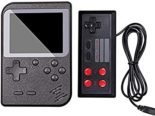 SODIAL Retro Handheld Game Console Fc System Plus Extra Joystick Portable Mini Controller 400 Classic Game Console 2.8 Inch Support Tv 2 Player