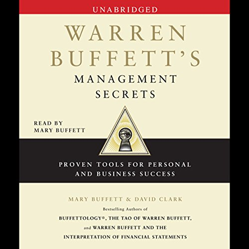 Warren Buffett's Management Secrets audiobook cover art