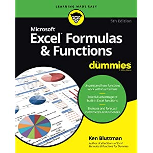 Excel Formulas & Functions For Dummies (For Dummies (Computers))