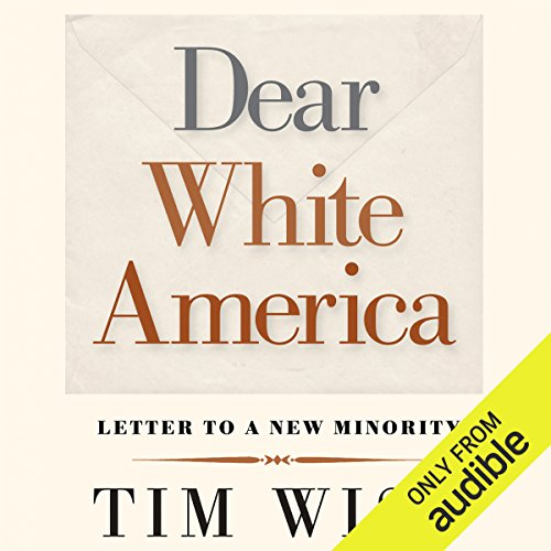 Dear White America audiobook cover art