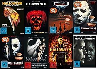 HALLOWEEN - DIE NÄCHTE DES GRAUENS - Teil 1 2 3 4 5 + Resurrection + Remake + 2018 - Michael Myers 8 DVD Collection