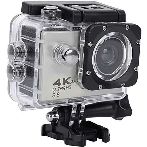 OCEANO HD 4K 20 MP WiFi con Webcam PC Modo micrófono Exterior cámara bajo el Agua 40 m con Mando a Distancia EIS estabilización cámara Impermeable