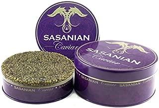 GUARANTEED OVERNIGHT! Fresh Imperial Golden Osetra Caviar - Grade 000 - Malossol 35 Oz/ 1 kg Tin