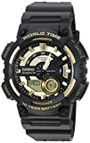 Reloj Casio Digital Telememo con World Time para Hombres 50mm