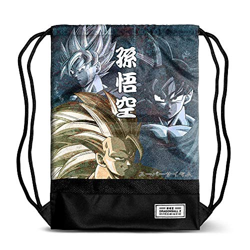 Karactermania Dragon Ball Goku-Storm Drawstring Bag Turnbeutel, 48 cm, Mehrfarbig (Multicolour)