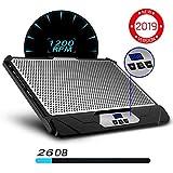 KLIM Swift Support Ventilé Vitesse Réglable Refroidisseur PC Portable 2...