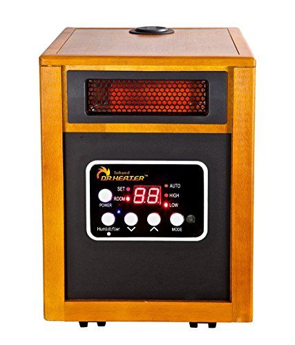 Dr. Infrared Heater Portable Space Heater with Humidifier, 1500-Watt heaters Patio