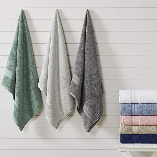 Amrapur Overseas 18-Piece SpunLoft Towel Set, Eucalyptus