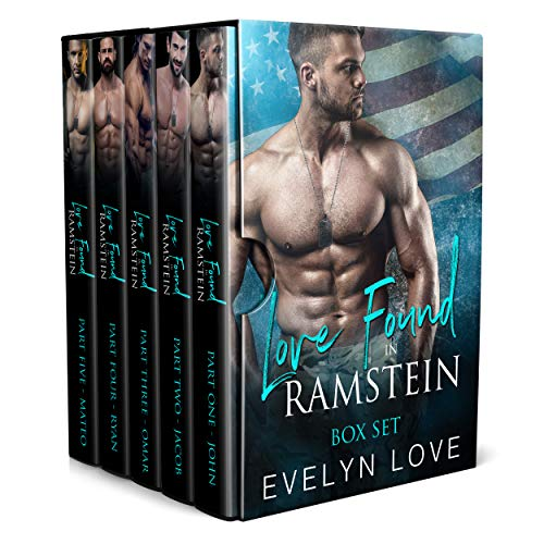 Love Found in Ramstein: Box Set: Books 1 to 5 (English Edition)