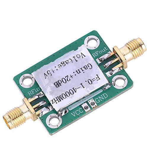 Amplificador de RF de bajo ruido, amplificador de RF estable para TV por cable para receptor de control remoto para circuito de recepción Wifi para GPS