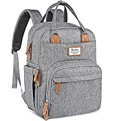 Ruvalino Multifunctional Diaper Bag Backpack