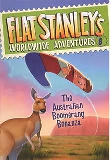 The Australian Boomerang Bonanza (Turtleback School & Library Binding Edition) (Flat Stanley's Worldwide Adventures) by Jeff Brown (2011-08-23)