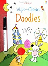 Wipe Clean Doodles (Usborne Wipe Clean Books) by Jessica Greenwell (1-Aug-2012) Paperback