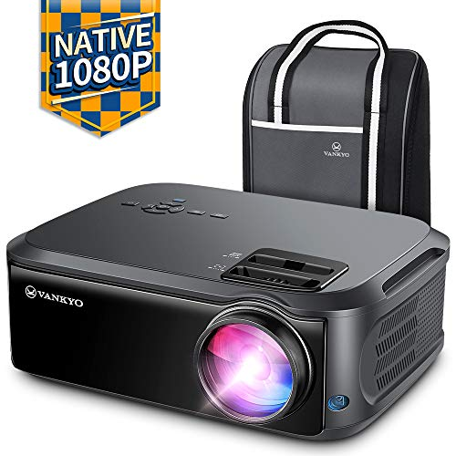 "VANKYO Performance V620 Native 1080P Projector, with 200"" Display 50,000 Hours LED, Compatible with TV Stick, HDMI, X-Box, Laptop, iPhone Android for Home/Outdoor Entertainment"