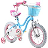 Royalbaby Stargirl Bike, Girl's Bike, 12 14 16 18 Inch Wheels, Pink or