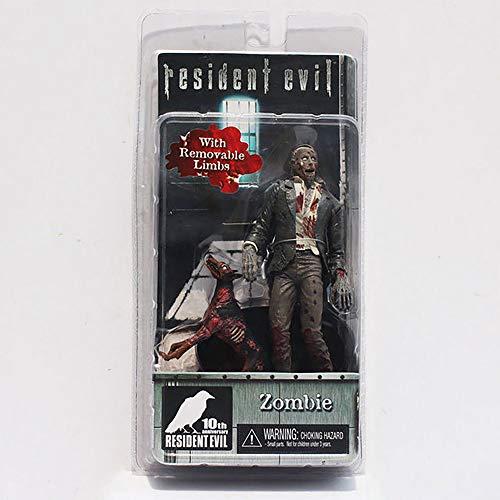 NoBrand Carte d'action du Personnage Resident Evil Chien Zombie Masque à gaz Hank Figurine articulée Figurine articulée