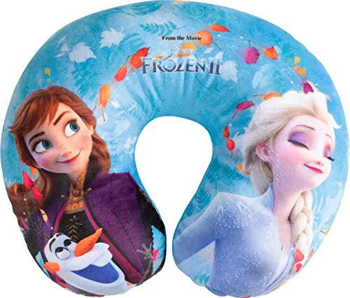 Cuscino per Collo da Viaggio Cervicale in Tessuto Frozen II Bambine Principesse Elsa