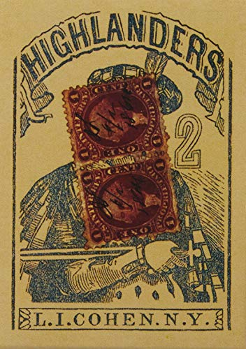 Highlander's 1864 Poker Cards Replica