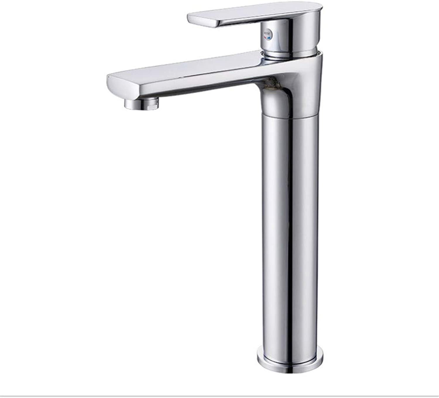Bathroom Taps Basin Tap Taps for Bathroom Sinkadd and Cast Copper Washbasin, Faucet, Faucet, Hot and Cold Bathroom, Basin, Single Mixing, Mixing Faucet.