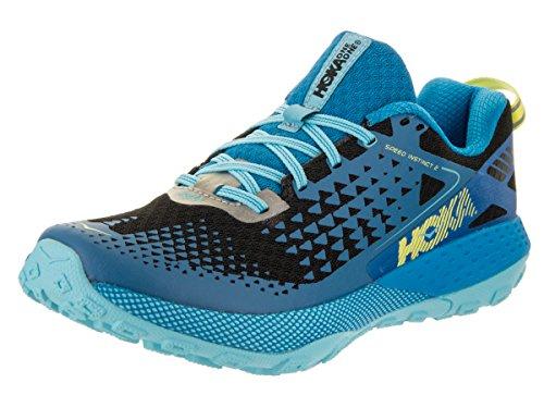 Hoka One One Speed Instinct 2 Running Shoes Women Blue Aster/Black Schuhgröße US 6,5 | 38 2017 Laufschuhe