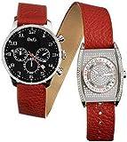 D & G dw-0115–Orologio da donna al quarzo con cinturino metallico