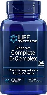Life Extension. Complete B-Complex ( Complejo B Completo Bioactivo ). 60 Cápsulas vegetarianas