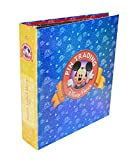 Disney Parks Exclusive Pin Trading 3-Ring Binder Album Book with Set of Pins Pages and Dividers