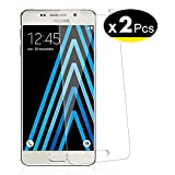 NEW'C Lot de 2, Verre Trempé pour Samsung Galaxy A3 2016 (SM-A310) Film Protection écran - Anti Rayures - sans Bulles d'air -Ultra Résistant (0,33mm HD Ultra Transparent) Dureté 9H Glass