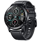Honor Magic Watch 2 Bluetooth SmartWatch, GPS Running Smartwatch with Heart Rate Monitor, Waterproof, Music, Longer Lasting 2 Weeks Battery Life for Hiking, Running, Swimming (Carbon Black, 46mm)