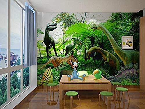 Llfang fotobehang Savanne dieren sticker TV sofa achtergrond muursticker 120cmx100cm