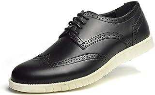 ビジネスシューズ メンズ スニーカー シューズ ウィングチップ レザー 靴 革靴 快適 軽量