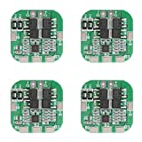 Comidox 2PCS 4S 20A 14.8V Li-ion Lithium 18650 Battery BMS PCM Protection PCB Board Module 16.8V Overcharge Over Discharge Short Circuit Protection