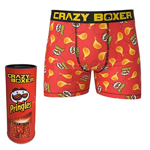 Crazy Boxers Pringles Chips Briefs en Pringles Tube Rojo rosso XL