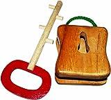 Kinder Creative Lock and Key, Brown