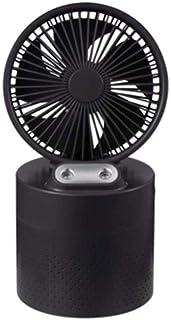 A-Lncie Mini ventilador, escritorio Conveniente Mini Humidificador Ventilador, 4000mAh de gran capacidad de doble spray humidificador pequeño ventilador, de carga USB Silencio ventilador eléctrico por