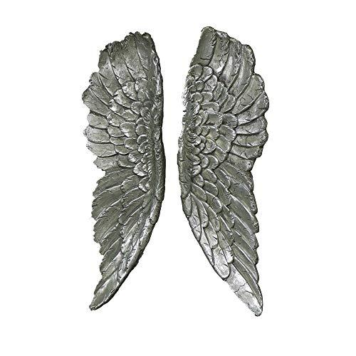 Melody Maison - Coppia di ali d'angelo in argento anticato