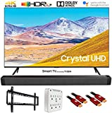 SAMSUNG UN65TU8000 65' 4K Ultra HD Smart LED TV (2020 Model) w/Deco Gear Soundbar Bundle