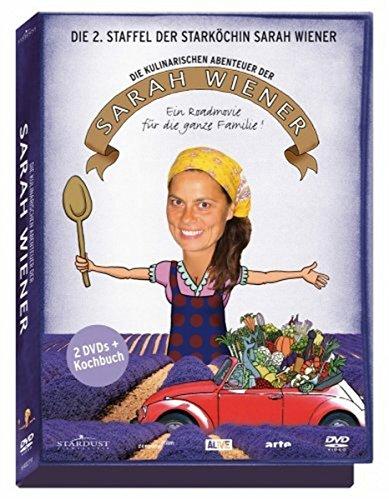 Die kulinarischen Abenteuer der Sarah Wiener - Staffel 2 (2 DVDs + Kochbuch)